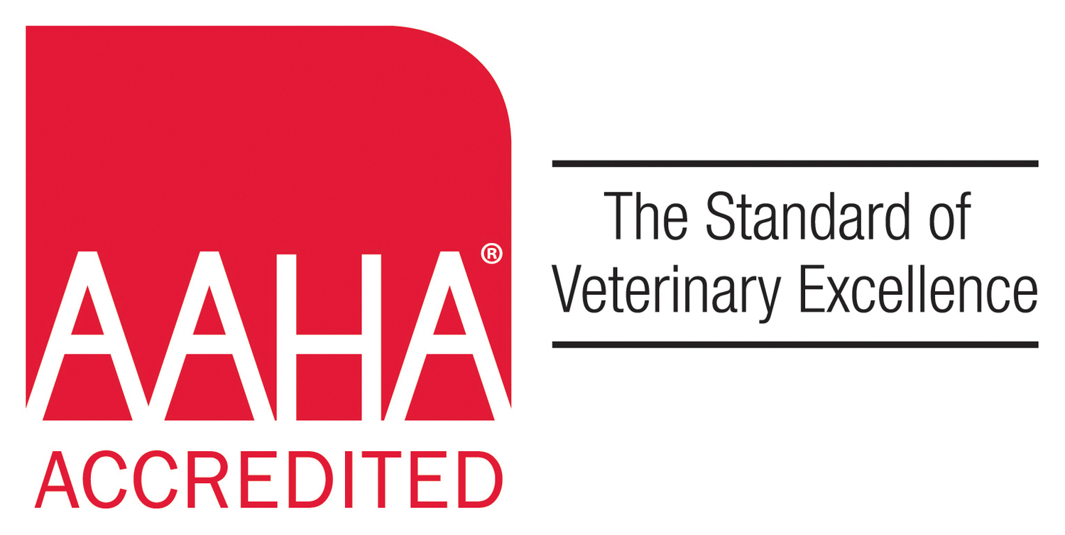 We are proud of our AAHA Accreditation, which includes rigorous testing to receive.