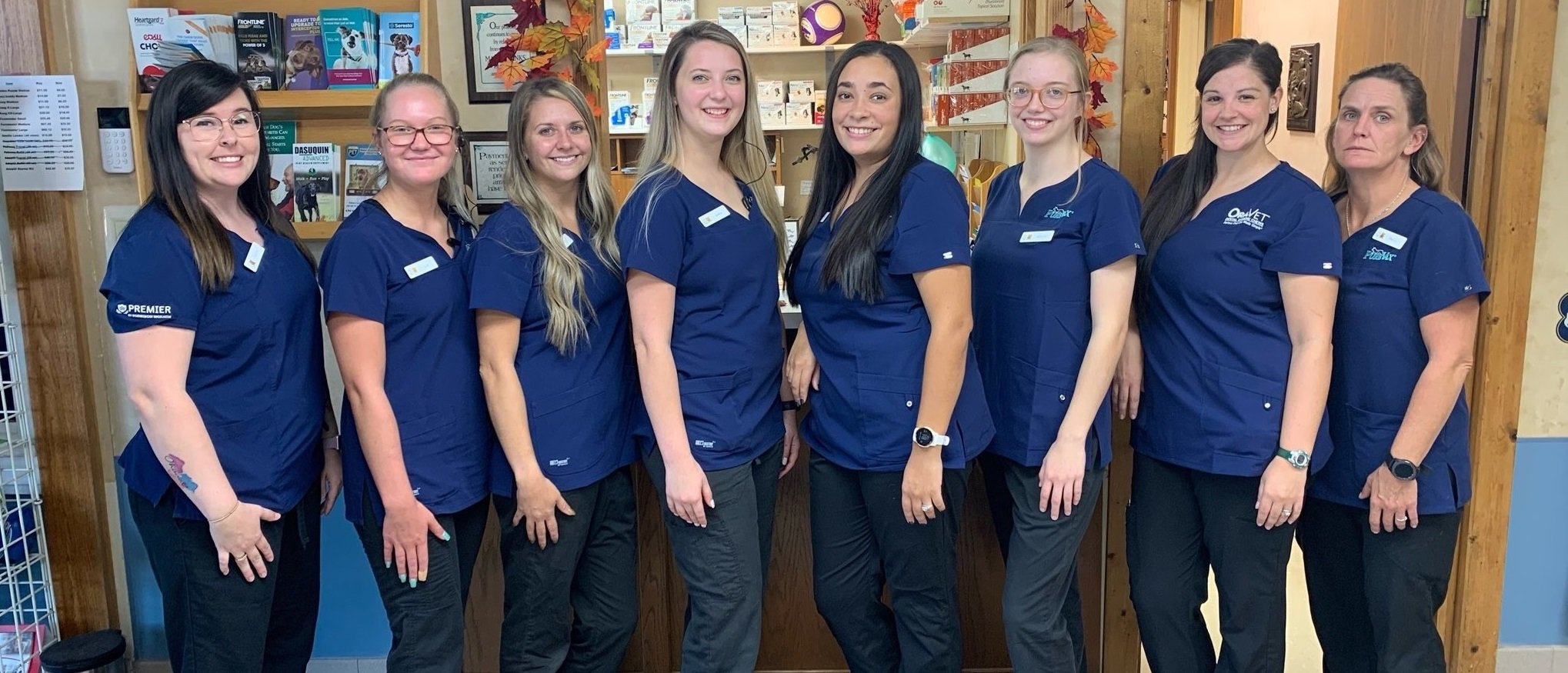 Animal Doctor Blue Hills veterinary team in Manhattan, KS